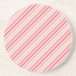 Abstract Pattern Stripes Beverage Coasters