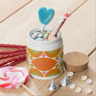 Abstract Pattern Candy Jar
