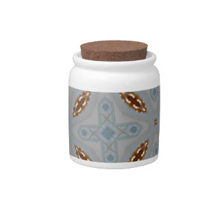 Abstract Pattern Candy Jars