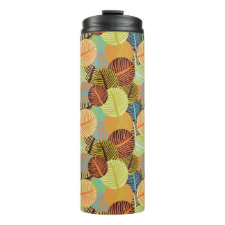 Abstract pattern thermal tumbler