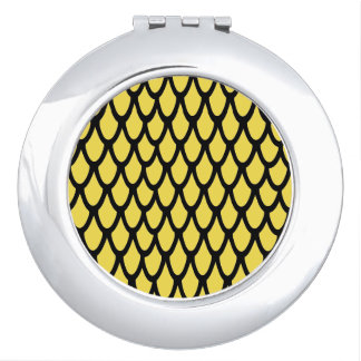 Abstract pattern travel mirrors