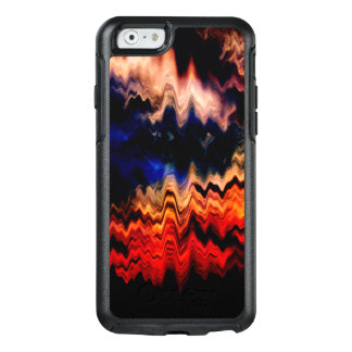 Abstract Pattern Wavy Colors OtterBox iPhone 6/6s Case
