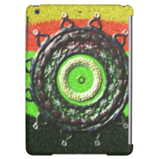 Abstract pattern with circle shapes iPad air case