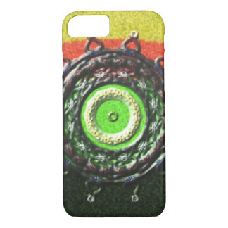 Abstract pattern with circle shapes iPhone 8/7 case