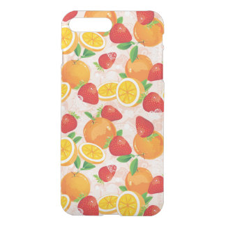Abstract pattern with strawberry iPhone 8 plus/7 plus case