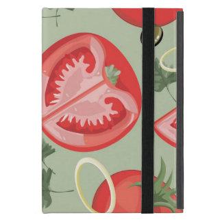 Abstract pattern with tomato iPad mini case