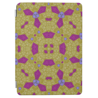 Abstract Pattern yellow purple iPad Air Cover