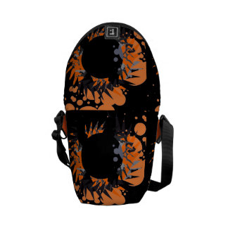 Abstract Patterns Bright mini Messenger  Bags Commuter Bags