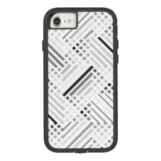 Abstract Patterns Of Grey And Black Lines Case-Mate Tough Extreme iPhone 8/7 Case