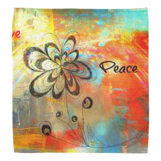 Abstract Peace Bandana