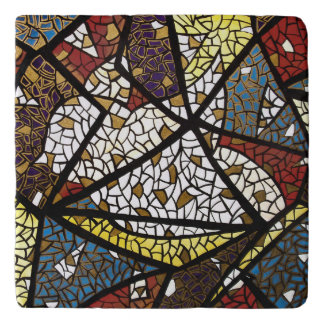 Abstract Peace Dove Trivets