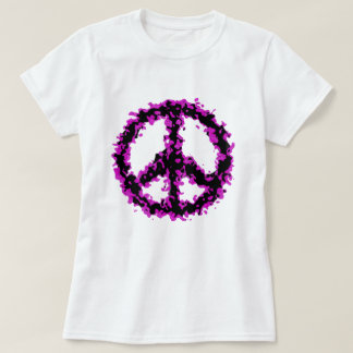 Abstract Peace T-Shirt