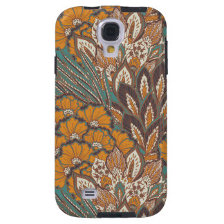 Abstract Peacock Feather Pattern Galaxy S4 Case
