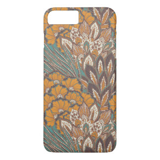 Abstract Peacock Feather Pattern iPhone 8 Plus/7 Plus Case