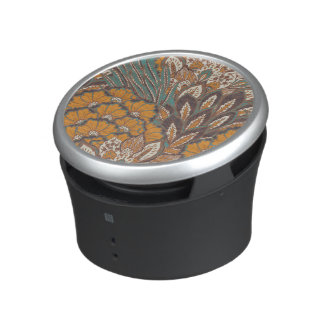 Abstract Peacock Feather Pattern Speaker