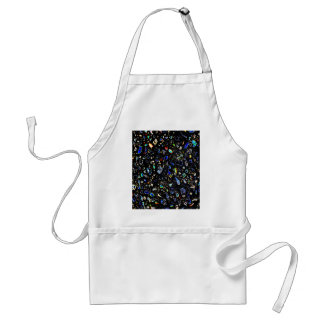 Abstract Pebble Standard Apron
