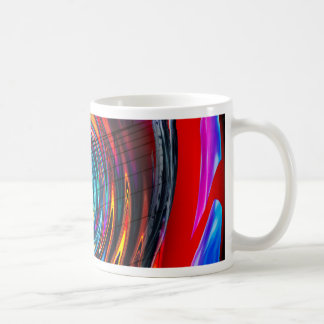 Abstract Perfection 13 -Tor Basic White Mug