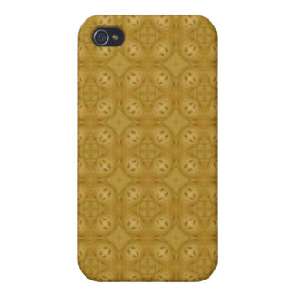 Abstract pern of wood iPhone 4 cover