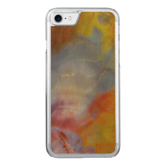 Abstract Petrified Wood close-up Carved iPhone 7 Case