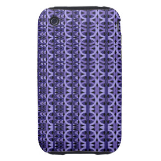 Abstract Phone 3G/3GS Case-Mate Tgh Purple Pattern iPhone 3 Tough Case