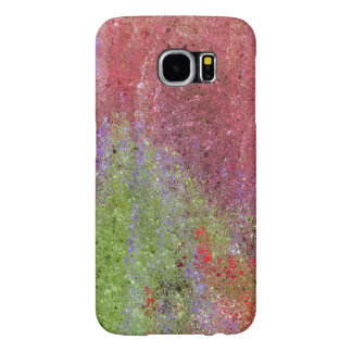 ABSTRACT/PHOTOG./DIG. EFFECTS/COLOR/PINK,GREEN,PUR SAMSUNG GALAXY S6 CASES