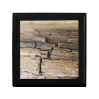 Abstract photograph of wood gift box