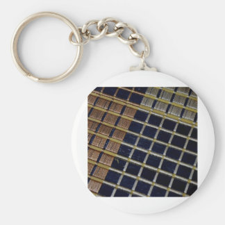 Abstract Photography Basic Round Button Key Ring