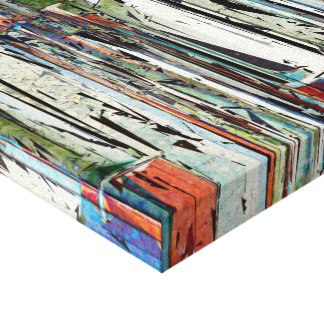 Abstract Piano Keys Stretched Canvas Prints