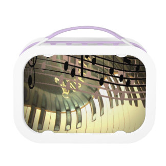 Abstract Piano Lunch Box