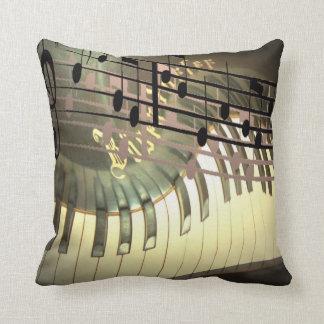 Abstract Piano Pillow Cushion