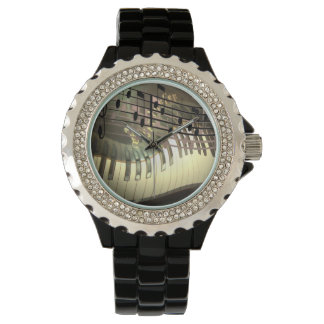 Abstract Piano Watch