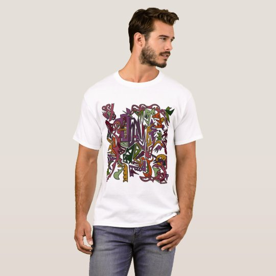 Abstract Picasso Style T-Shirt