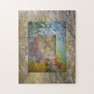 Abstract Picture Frame Jigsaw Puzzles