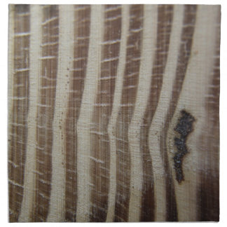 abstract picture of wood napkin