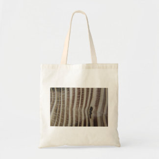 abstract picture of wood tote bag