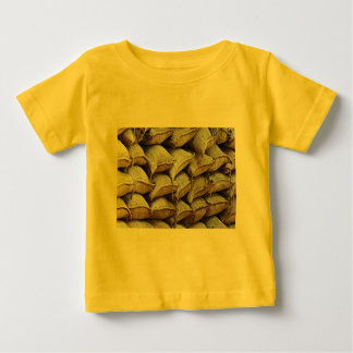 Abstract Pile of Sandbags Barrier Pattern (1) Baby T-Shirt