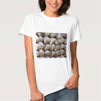 Abstract Pile of Sandbags Barrier Pattern (1) Shirt