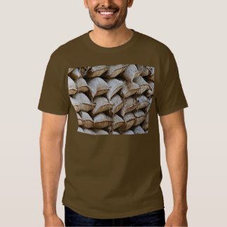 Abstract Pile of Sandbags Barrier Pattern (1) Shirts