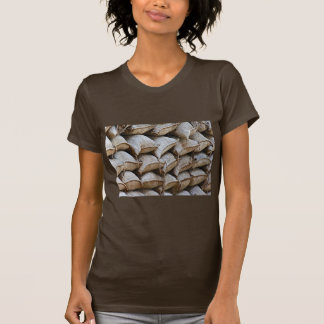 Abstract Pile of Sandbags Barrier Pattern (1) T-Shirt