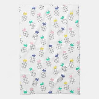 Abstract Pineapples Tea Towel