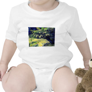 Abstract Pines Bodysuits