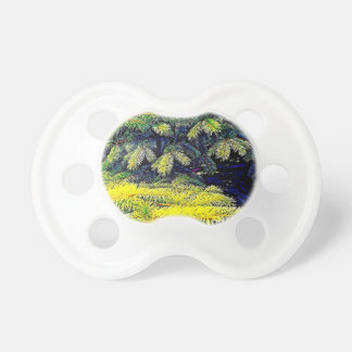 Abstract Pines Pacifier