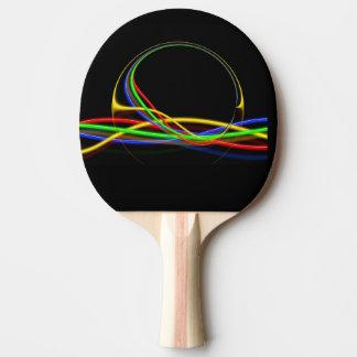 abstract ping pong paddle