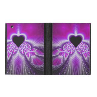 Abstract Pink And Purple Fractal Pattern iPad Covers