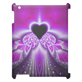 Abstract Pink And Purple Fractal Pattern Case For The iPad 2 3 4