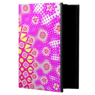 Abstract Pink And White Pattern Powis iPad Air 2 Case