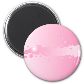 Abstract Pink Background 6 Cm Round Magnet