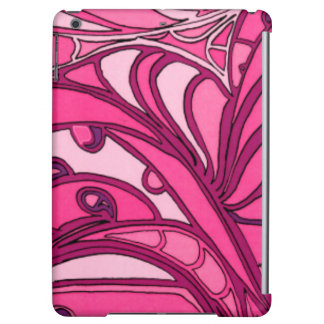 Abstract Pink Panel Painting