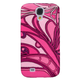Abstract Pink Panel Painting Galaxy S4 Case