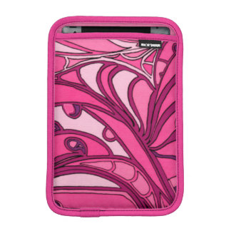 Abstract Pink Panel Painting iPad Mini Sleeve